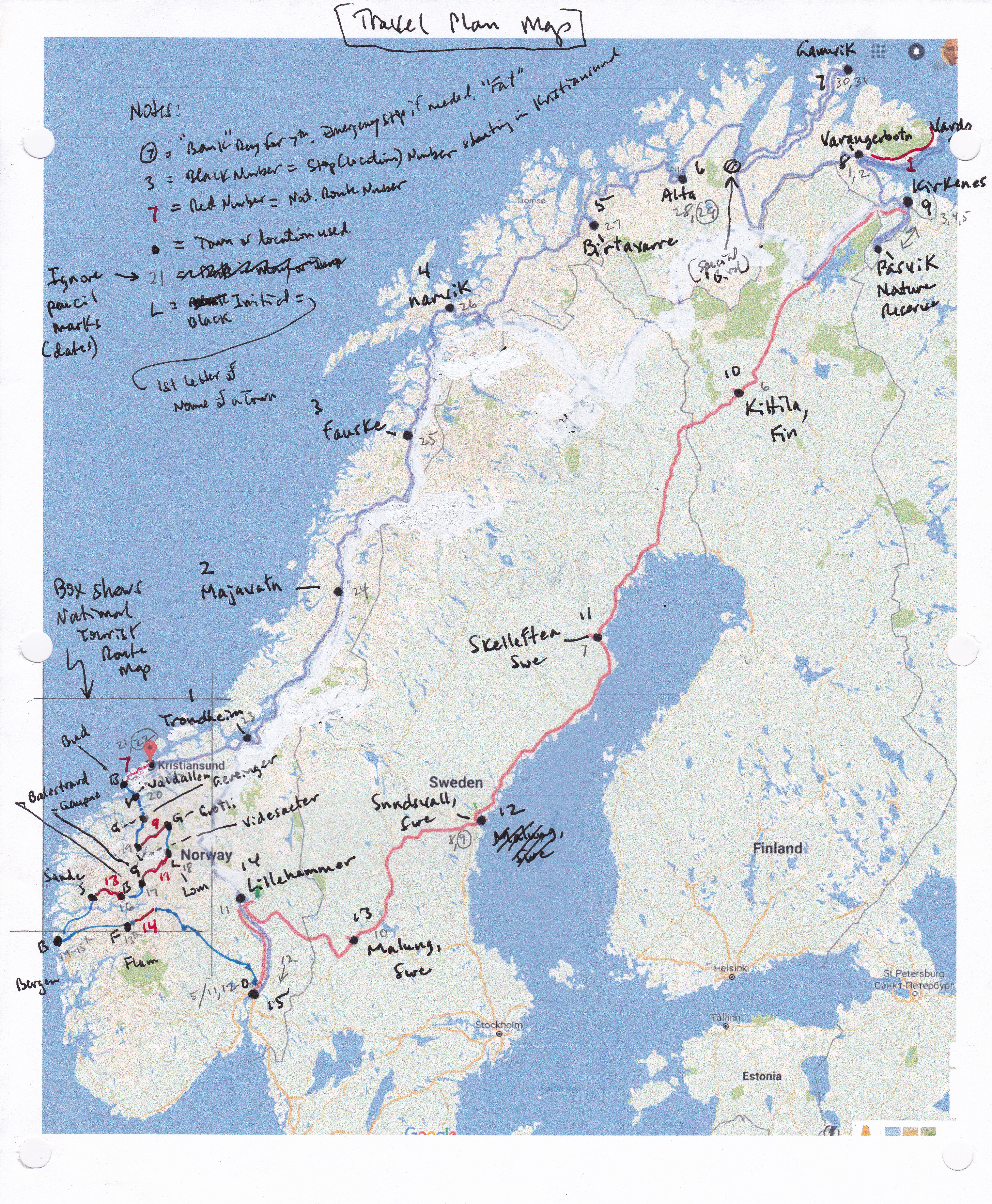 Norway Report List - Norway map towns